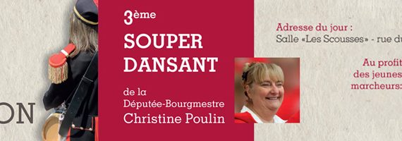 invitation souper Christine Poulin